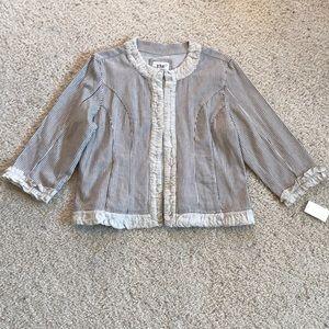 Jackets & Blazers - NWT, Adorable 3/4 Length Sleeve Top/Jacket!!